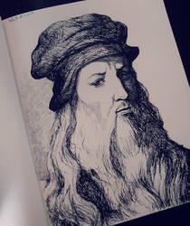 Leonardo da Vinci by GentlemanTurtle101