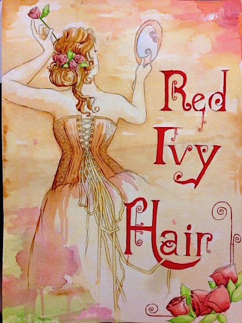 Red Ivy Hair by Yiliana