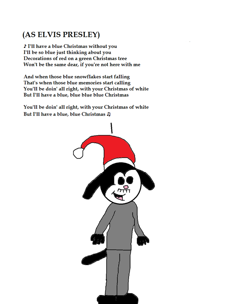 Robin as Elvis Singing Blue Christmas by MikeJEddyNSGamer89 on ...