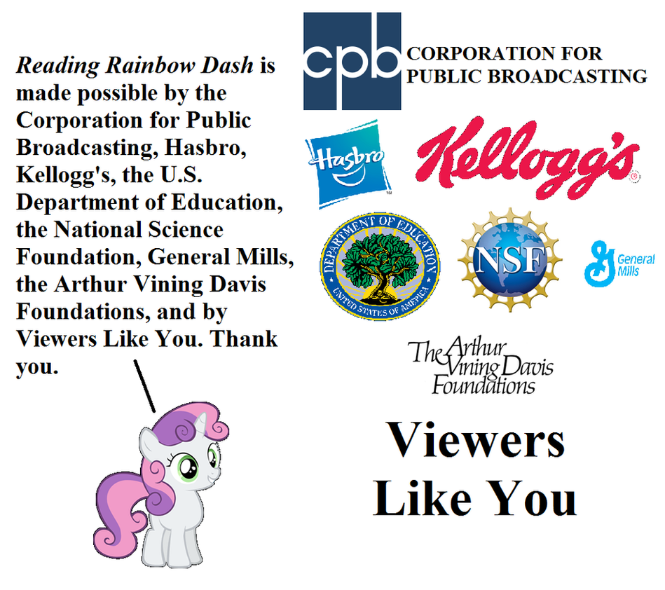 Sweetie Belle Announced The Fundings For RRD By