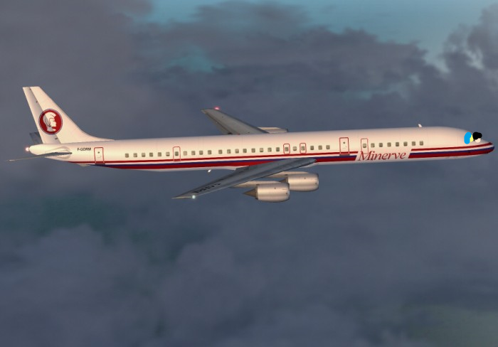 TheBoeingKid and Joy Flying the DC-8-73 by MikeJEddyNSGamer89 on