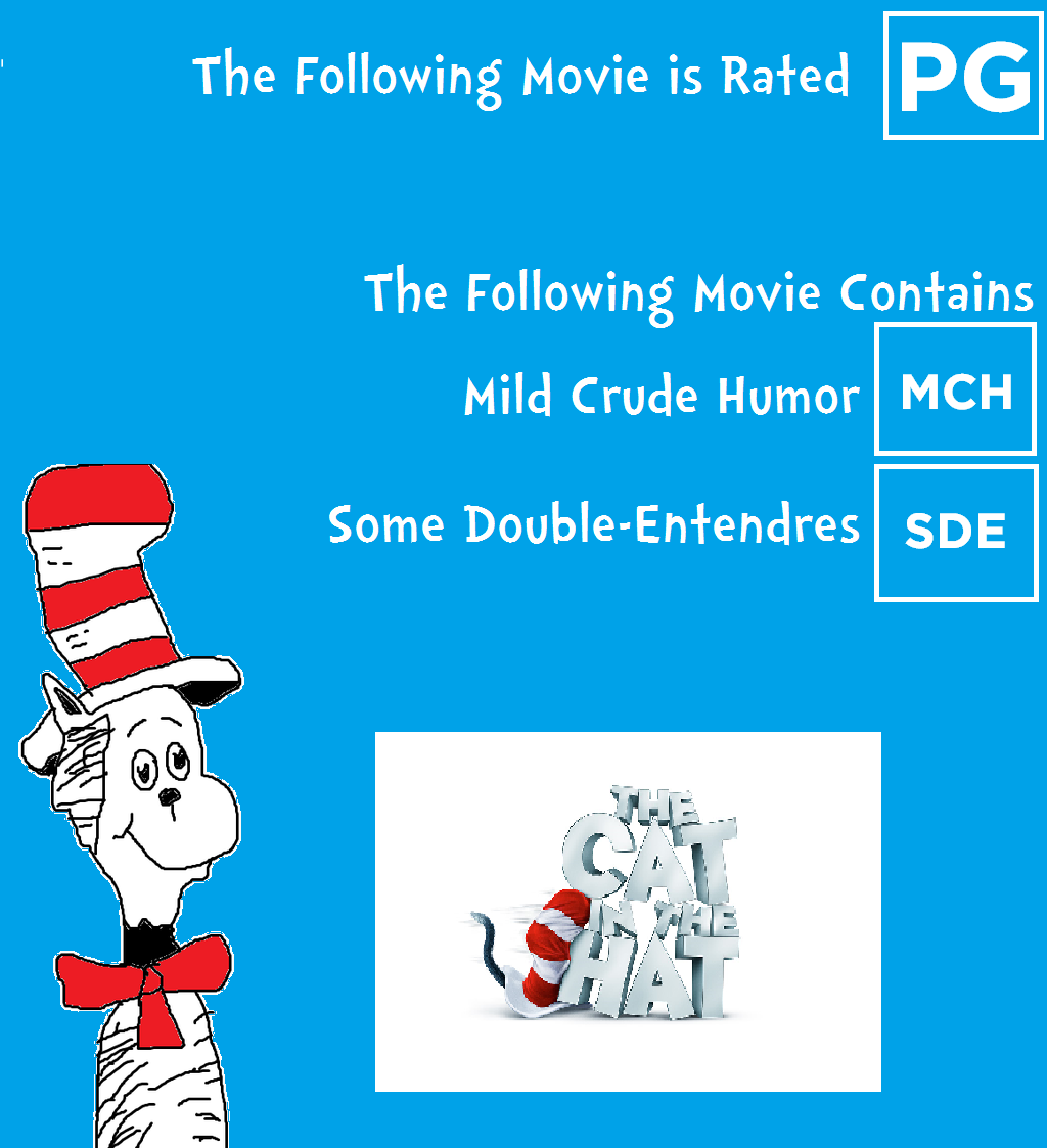 Cat In The Hat Movie Storybook