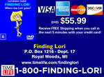 Finding Lori DVD Infomercial from Time-Life