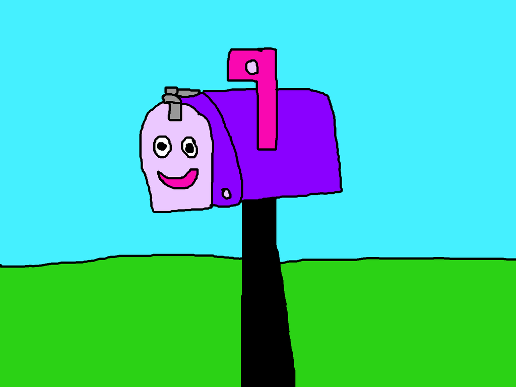 mailbox from blue u0027s clues by mikeeddyadmirer89 on deviantart