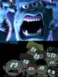 The Loud Children Scared of Sulley's Fierce Roar