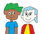 Henry and June, Hosts of KABLAM!