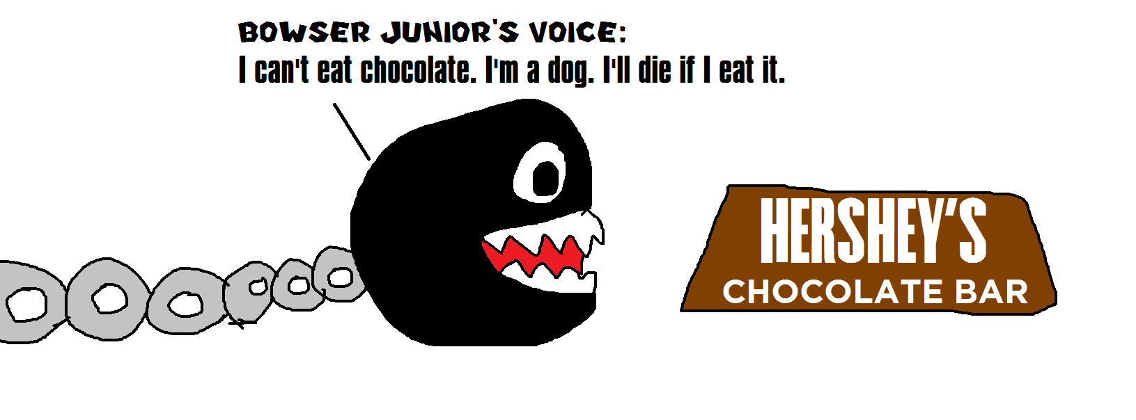 Bowser Junior the Dog Can't Eat Chocolate by MikeEddyAdmirer89 on ...