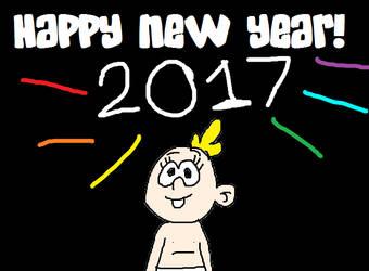 Lily Loud - Happy New Year! - 2017!!! by MikeJEddyNSGamer89