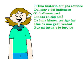 Bucky Singing La Historia del Ballenero by MikeJEddyNSGamer89