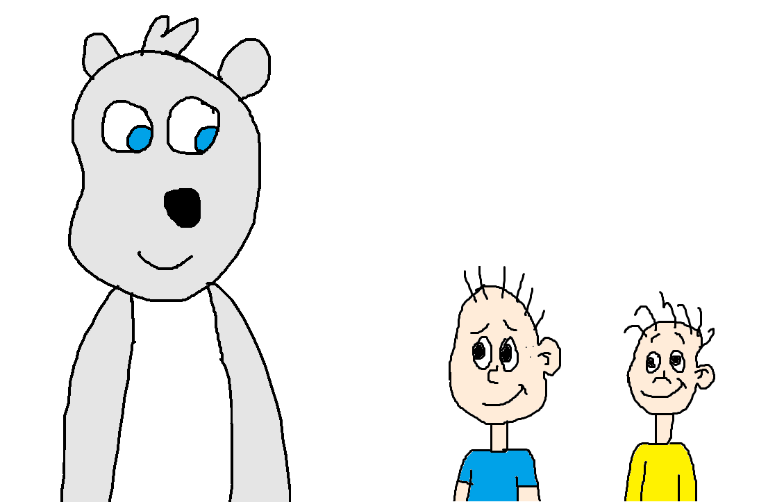 Bernard The Polar Bear Met Tommy And Dil Pickles By