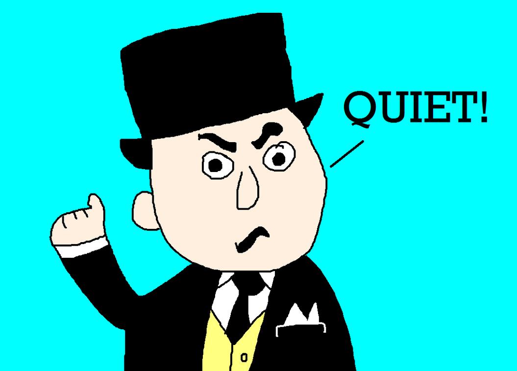 Sir Topham Hatt Yelling, Quiet! by MikeEddyAdmirer89
