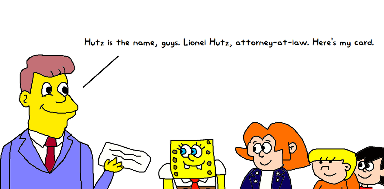 Lionel hutz meeting elvis spongebob wally and st by lionel hutz meeting elvis spongebob wally and st by mikejeddynsgamer89 colourmoves