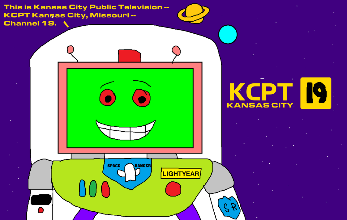 KCPT-TV Channel 19 Ident with Vacuum Lightyear! by MikeEddyAdmirer89