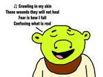 Shrek Singing Crawling by Linkin Park