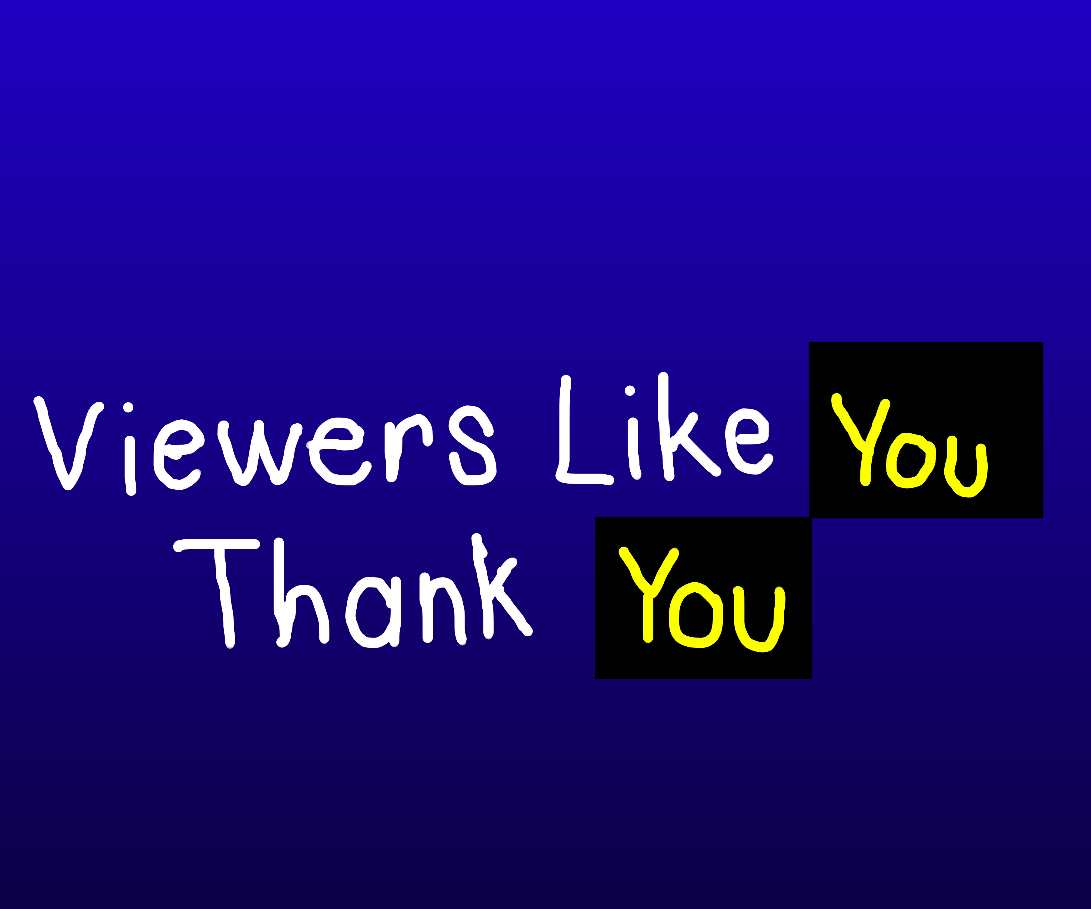 Viewers like you thank you
