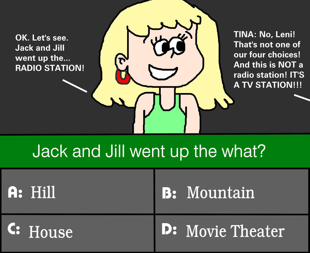 Jack and Jill Did Not Went Up the Radio Station by