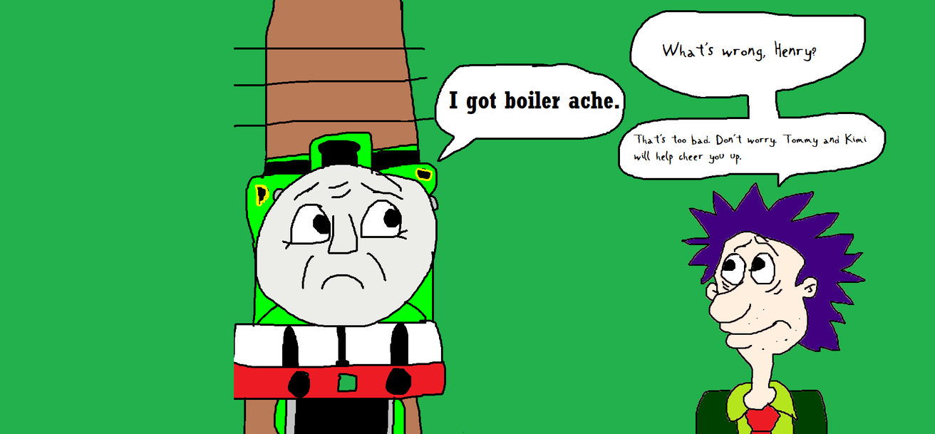 Henry Told Stu that he's got Boiler Ache by MikeEddyAdmirer89