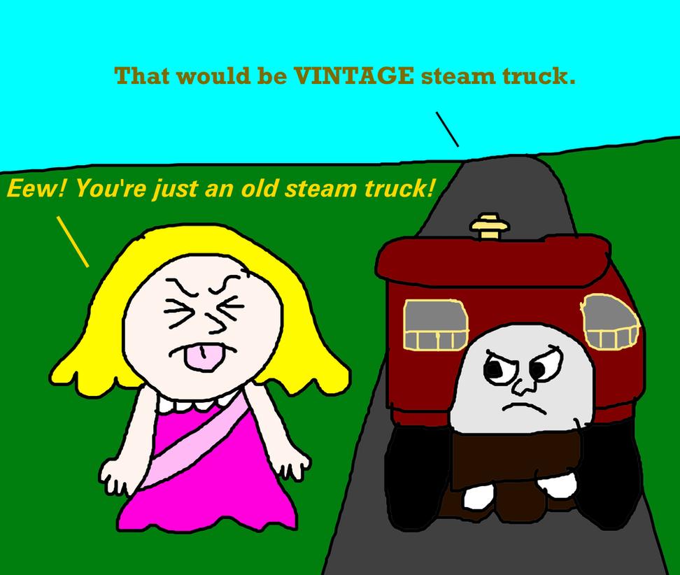 Elizabeth The Vintage Quarry Truck 45