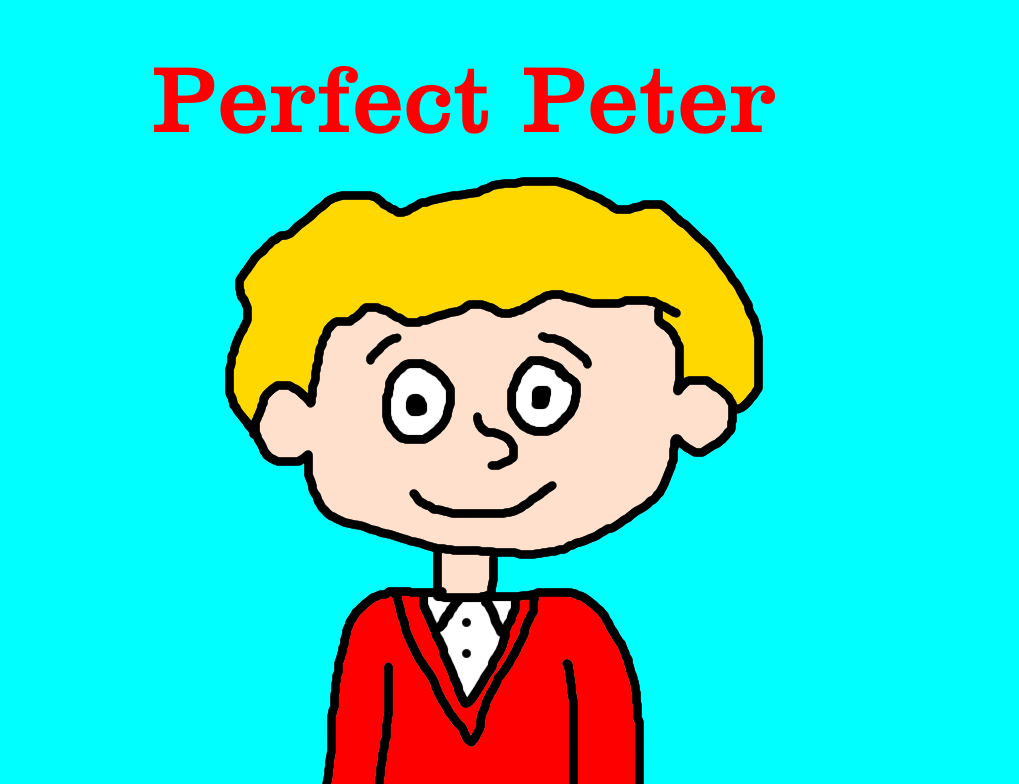Perfect Peter From Horrid Henry By MikeJEddyNSGamer89