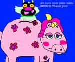 Big Mean Carl Ate Miss Piggy's Piggy Bank by MikeJEddyNSGamer89