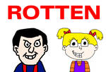 Robbie Rotten and Angelica Pickles - ROTTEN!