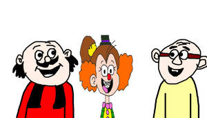 Motu Patlu Saw Luan Loud the Clown