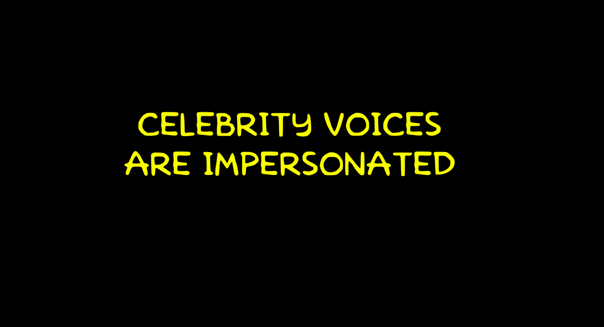 Celebrity Voices Impersonated - Cartoon Research