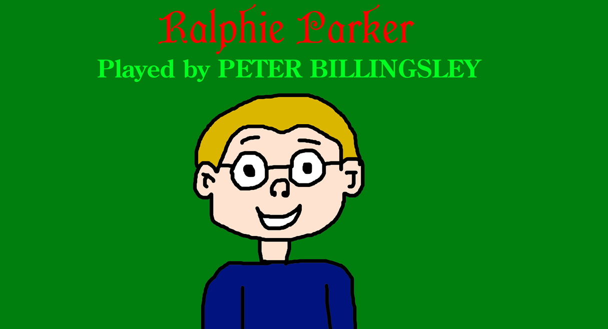 Ralphie Parker from A Christmas Story by MikeJEddyNSGamer89 on ...
