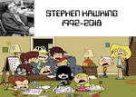 Lisa Loud and Others Crying on Stephen Hawking's D