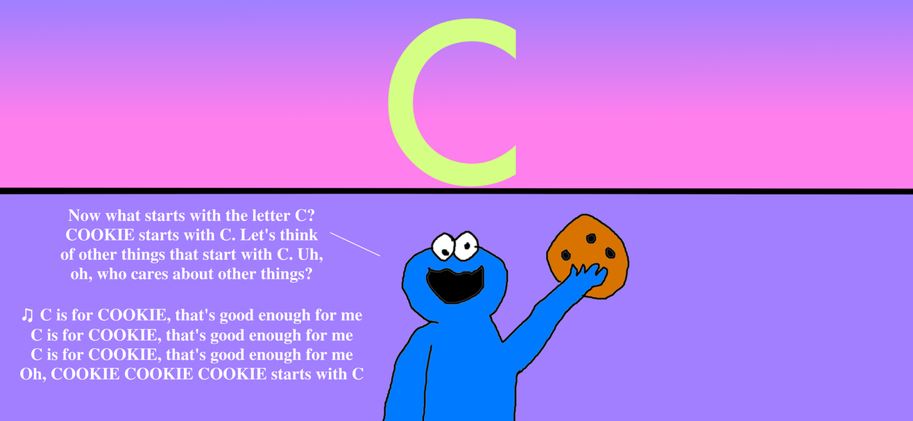 Letter C Is For Cookie pics of noddy coloring pages the little ...