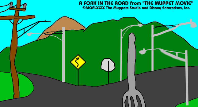 The Muppet Movie - A Fork in the Road by MJEGameandComicFan89