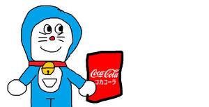 Doraemon's Coca-Cola