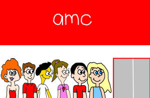 Alan, Allie and Others Going to AMC Movies by MikeJEddyNSGamer89