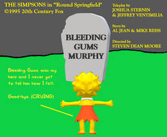 Lisa Simpson Sad on Bleeding Gums Murphy's Death by MikeJEddyNSGamer89