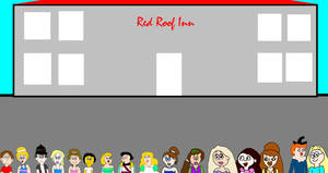 Adam and Others Going to Stay in Red Roof Inn by MikeJEddyNSGamer89