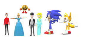 Sonic and Tails Seeing Adam, Timmy and More! by MikeJEddyNSGamer89