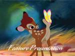 Bambi - 1991-1999 Feature Presentation Logo by MikeJEddyNSGamer89