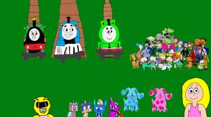 Emily, Thomas and More Meeting Teagan and Rugrats