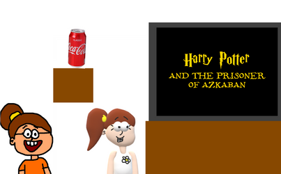 Numbuh 11 and Luan Watch Harry Potter and Azkaban