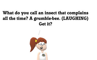 Luan Loud's Grumble-Bee Joke