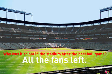 The Fans Left the Baseball Stadium by MikeJEddyNSGamer89