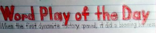 Dynamite factory word play by MikeJEddyNSGamer89