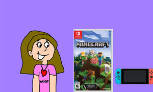 Allie with Minecraft Game for Nintendo Switch