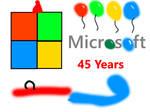 45 Years of Microsoft!