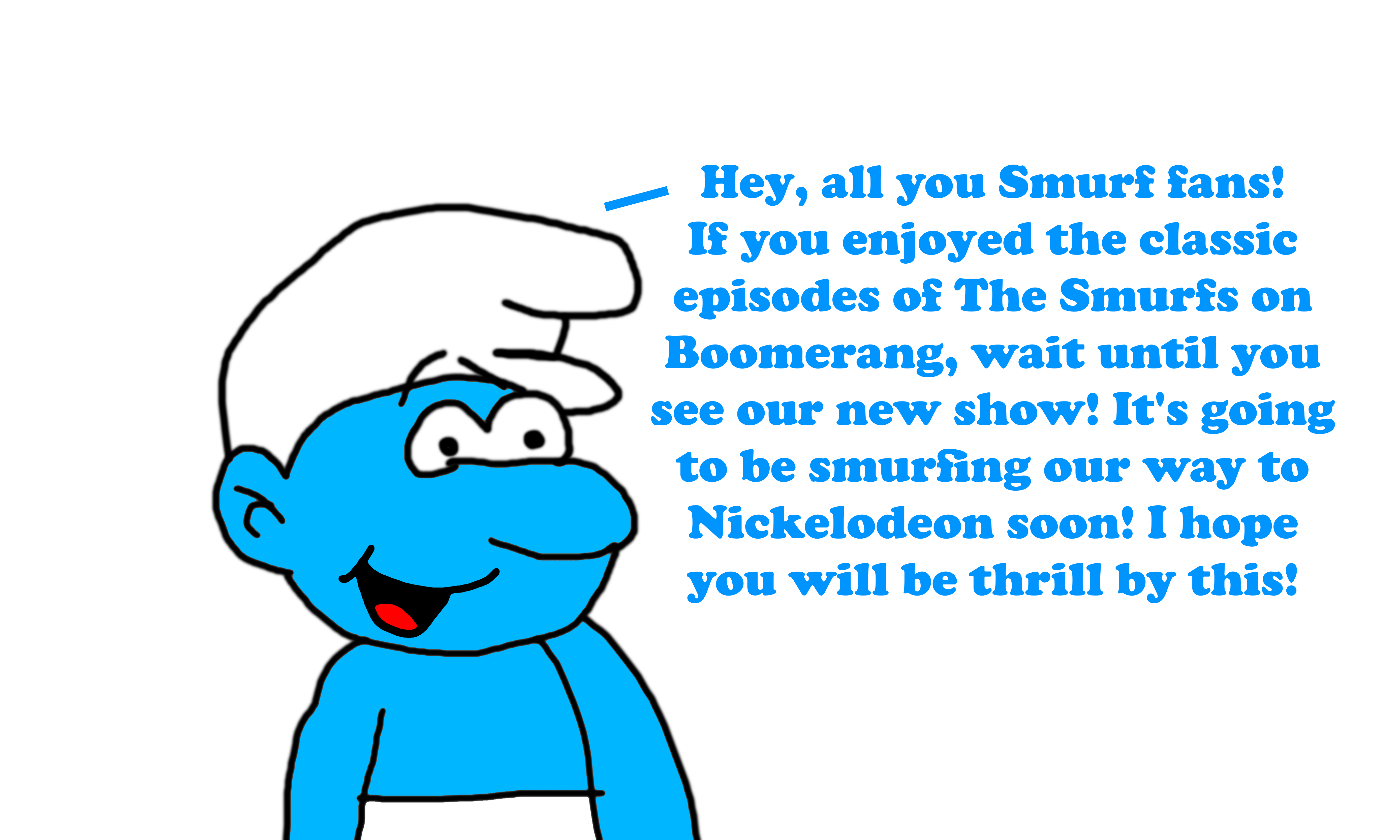 The New Smurfs Series Coming To Nickelodeon 2021 By Mjegameandcomicfan89 On Deviantart
