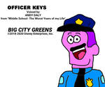 Officer Keys from Big City Greens