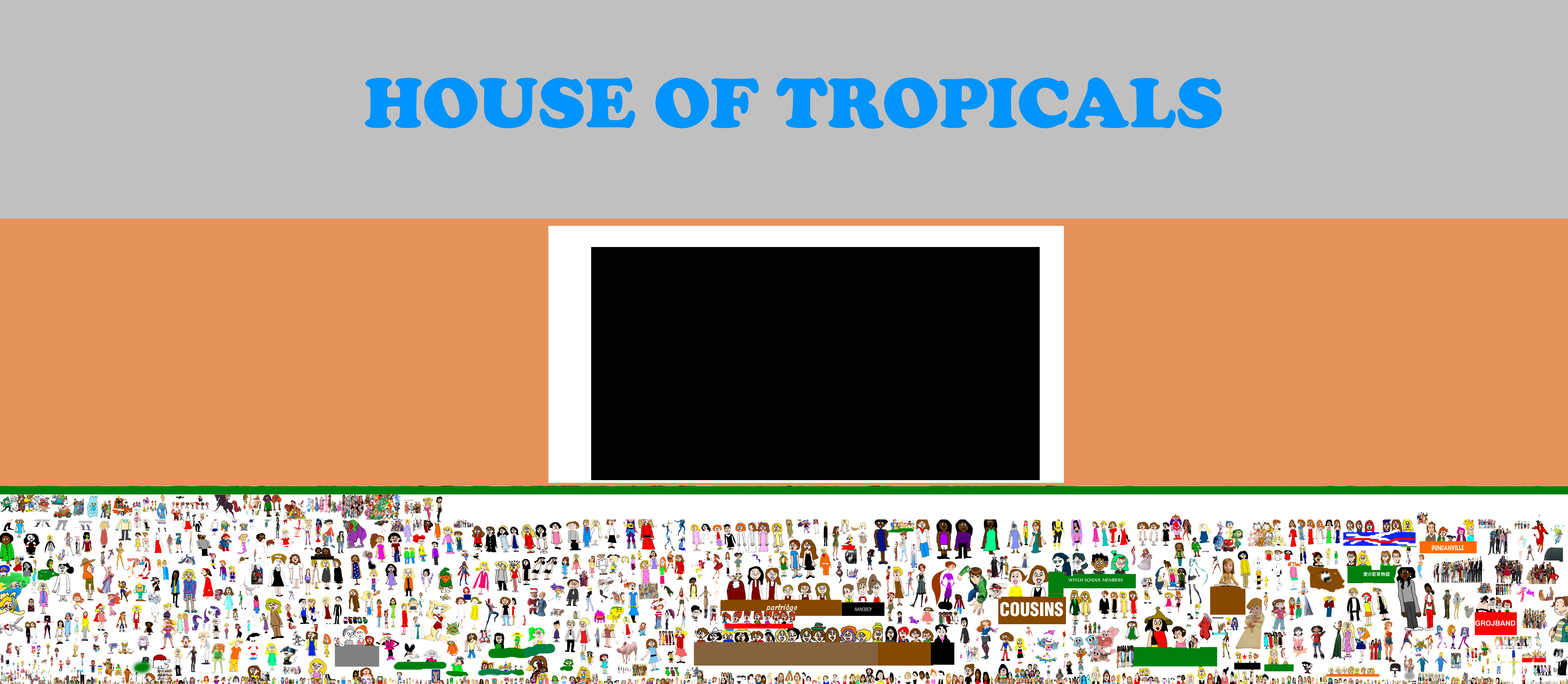 Everyone Going To The House Of Tropicals Aquarium By Mjegameandcomicfan89 On Deviantart
