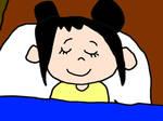 Kai-Lan Sleeping at her Own Bed