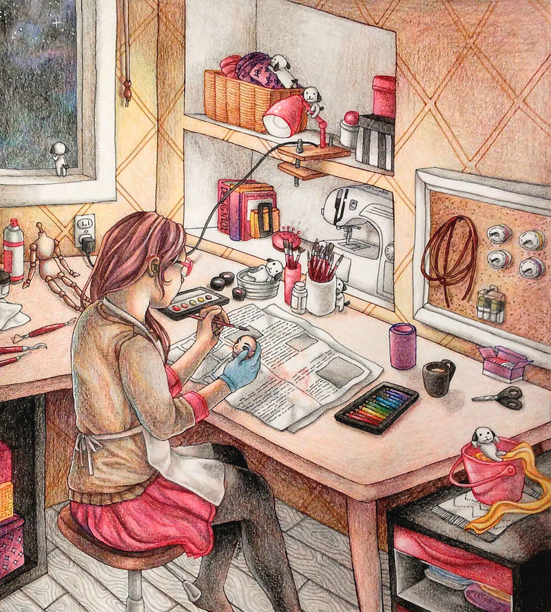 The Doll Maker by UxieWriter
