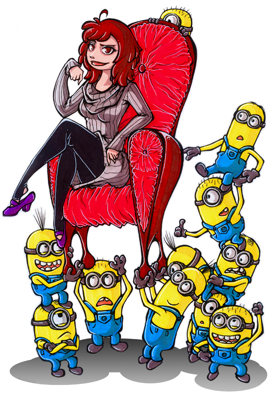 Despicable Me by Itzea